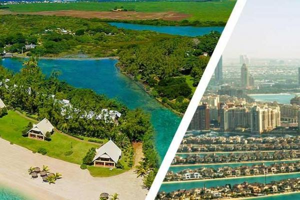 Mauritius with Dubai Tour Package